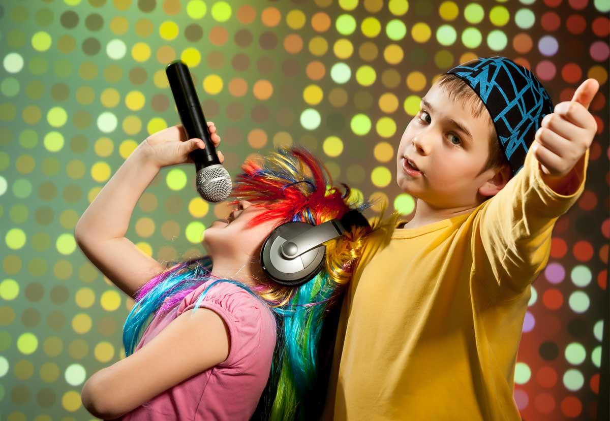 Kids as popstars