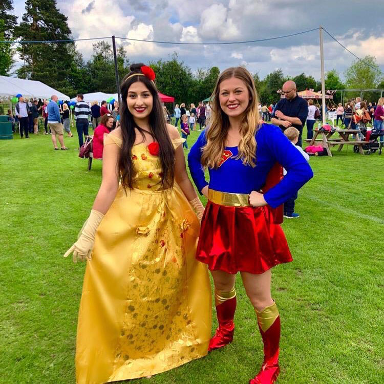 Princess and Superhero Entertainment
