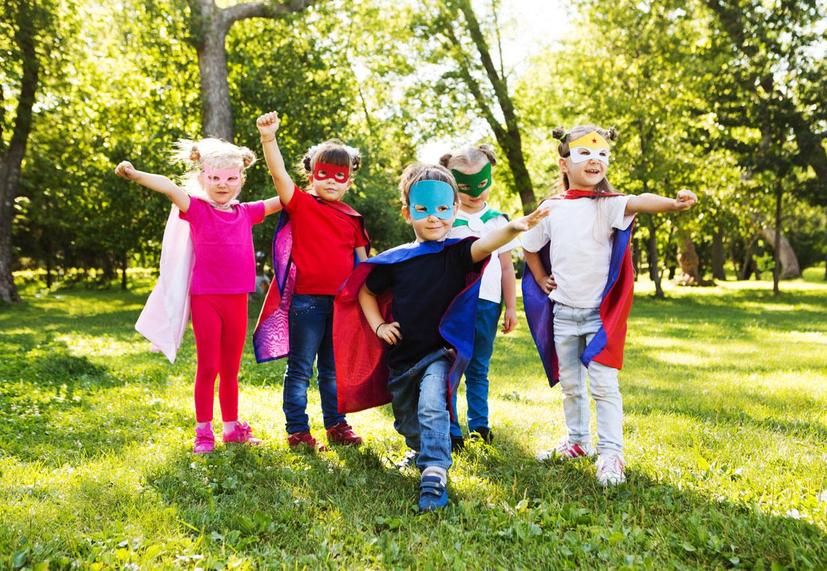 Kids superhero party