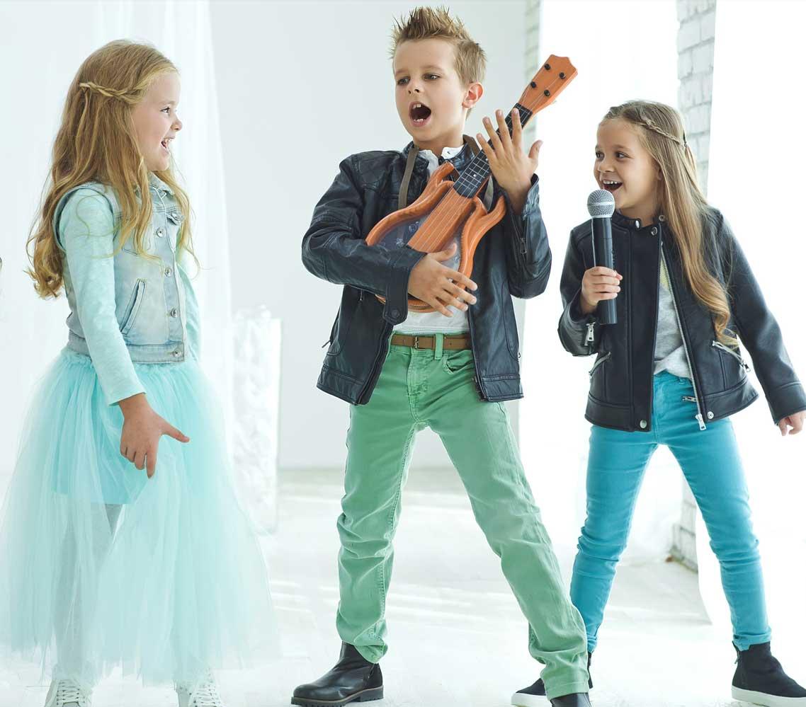 Popstar parties for Kids